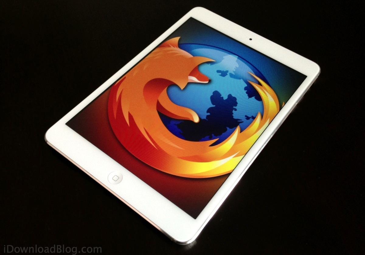 FireFox iPad mini