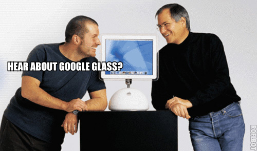 Hear about Google Glass (ROFLbot)