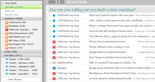 Image result for google reader