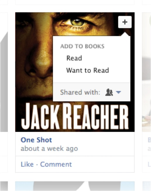New Facebook Timeline (Book media display)