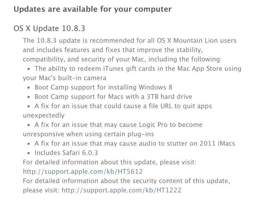 OS X 10.8.2 Release Notes