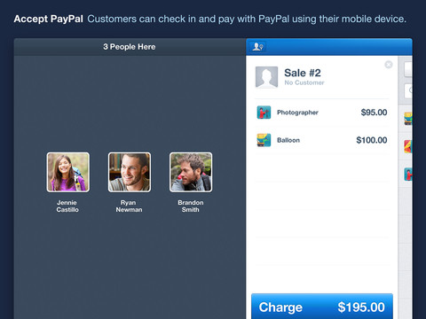 PayPal Here for iPad 1.0 (iPad screenshot 003)