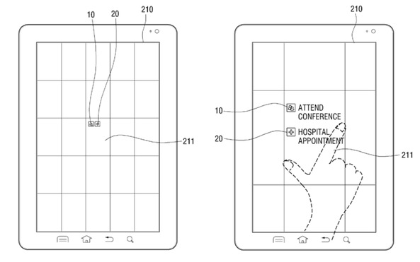 Samsung multitouch patent (drawing 001)