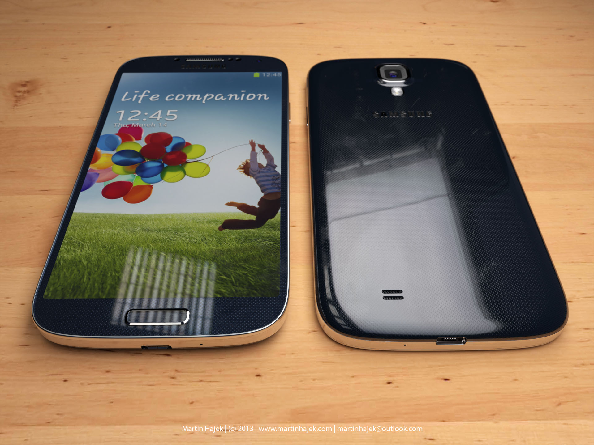 Size comparison (Galaxy S4 vs iPhone 5, Martin Hajek 001)