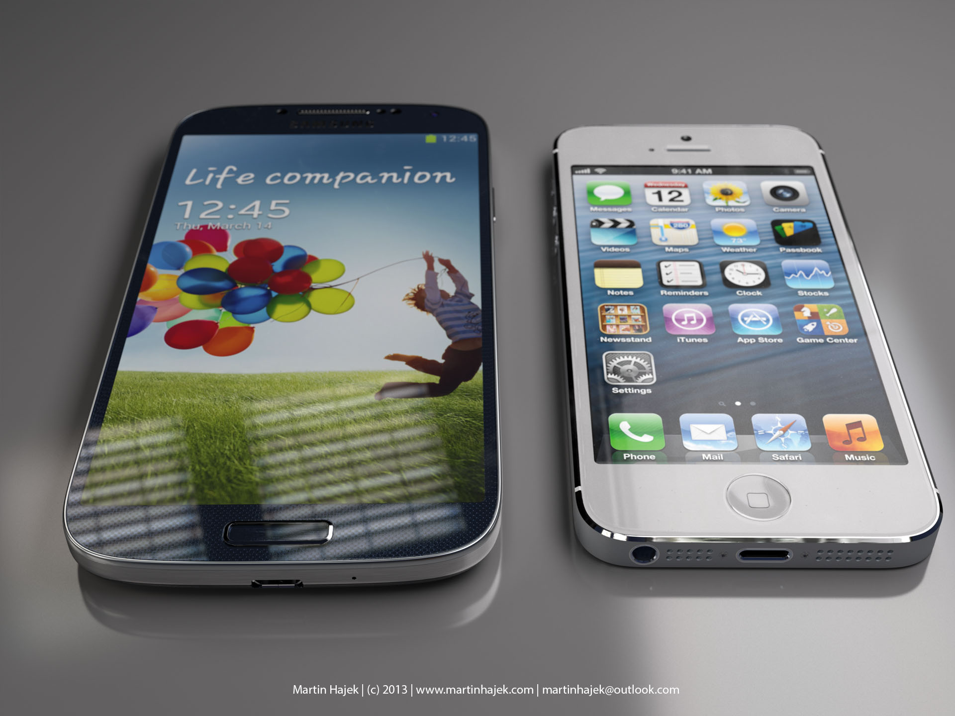 Galaxy S4 Not Hurting Resilient Us Iphone Sales