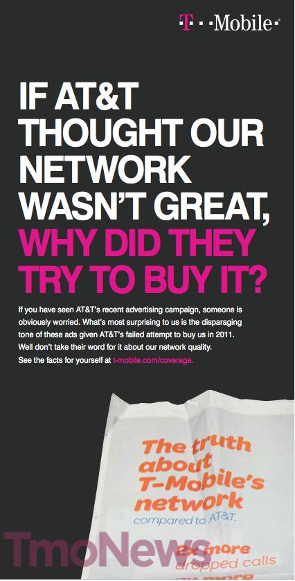 T-Mobile anti-ATT ad