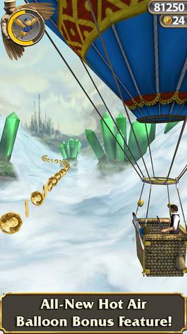 Temple Run Oz for iOS (iPhone screenshot 001)