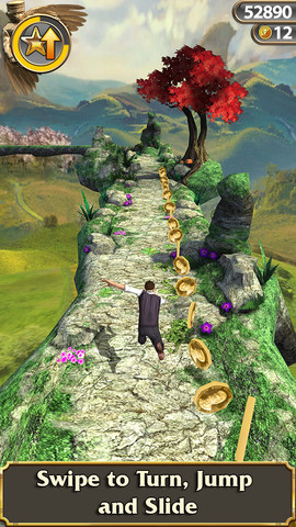 Temple Run Oz for iOS (iPhone screenshot 002)