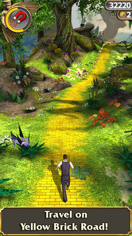 Temple Run Oz for iOS (iPhone screenshot 003)