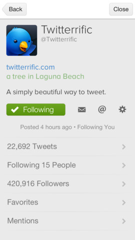Twitterrific 2.5 for iOS (iPhone screenshot 004)