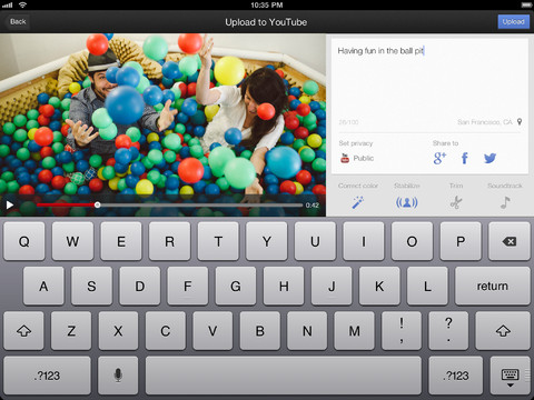 YouTube Capture 1.2 for iOS (iPad screenshot 002)