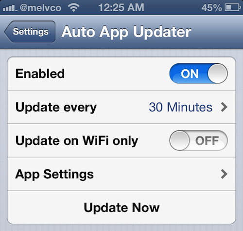 auto app updater