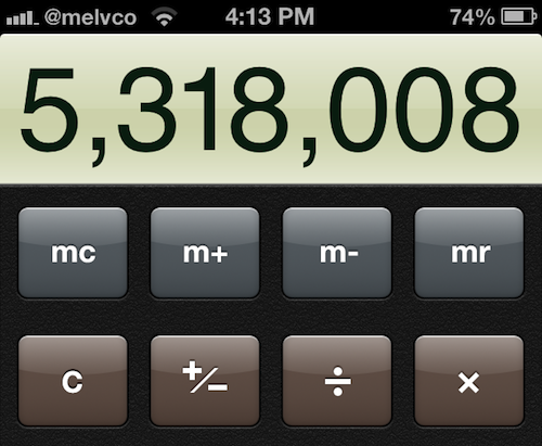 calculator trick 1
