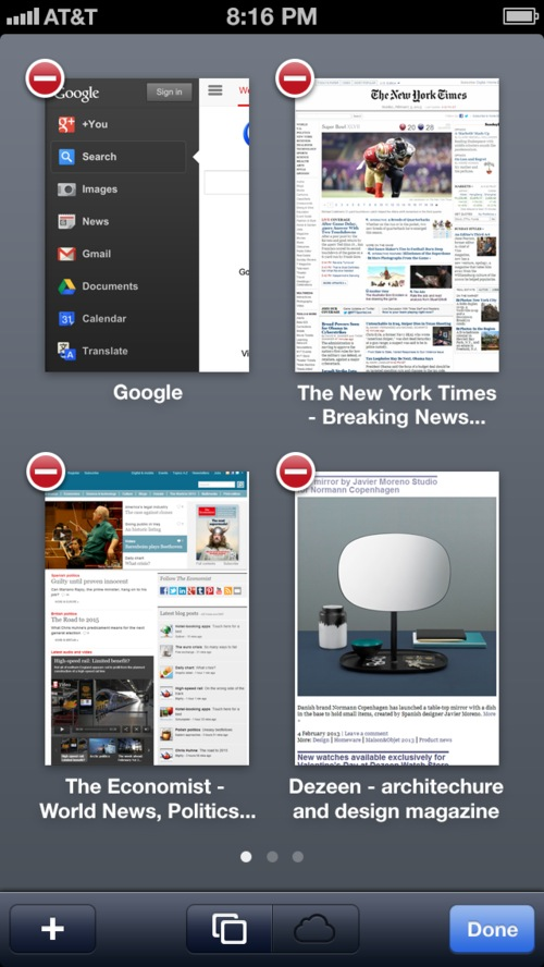 iOS 7 Safari concept (Brent Caswell, image 002)