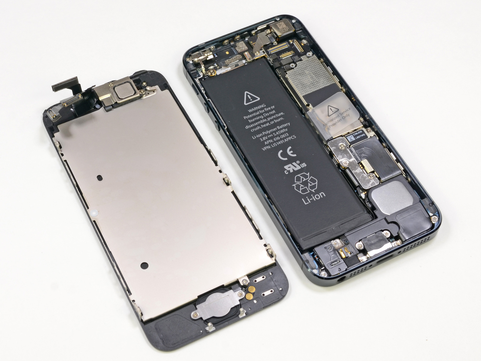 iPhone 5 teardown (iFixIt 001)