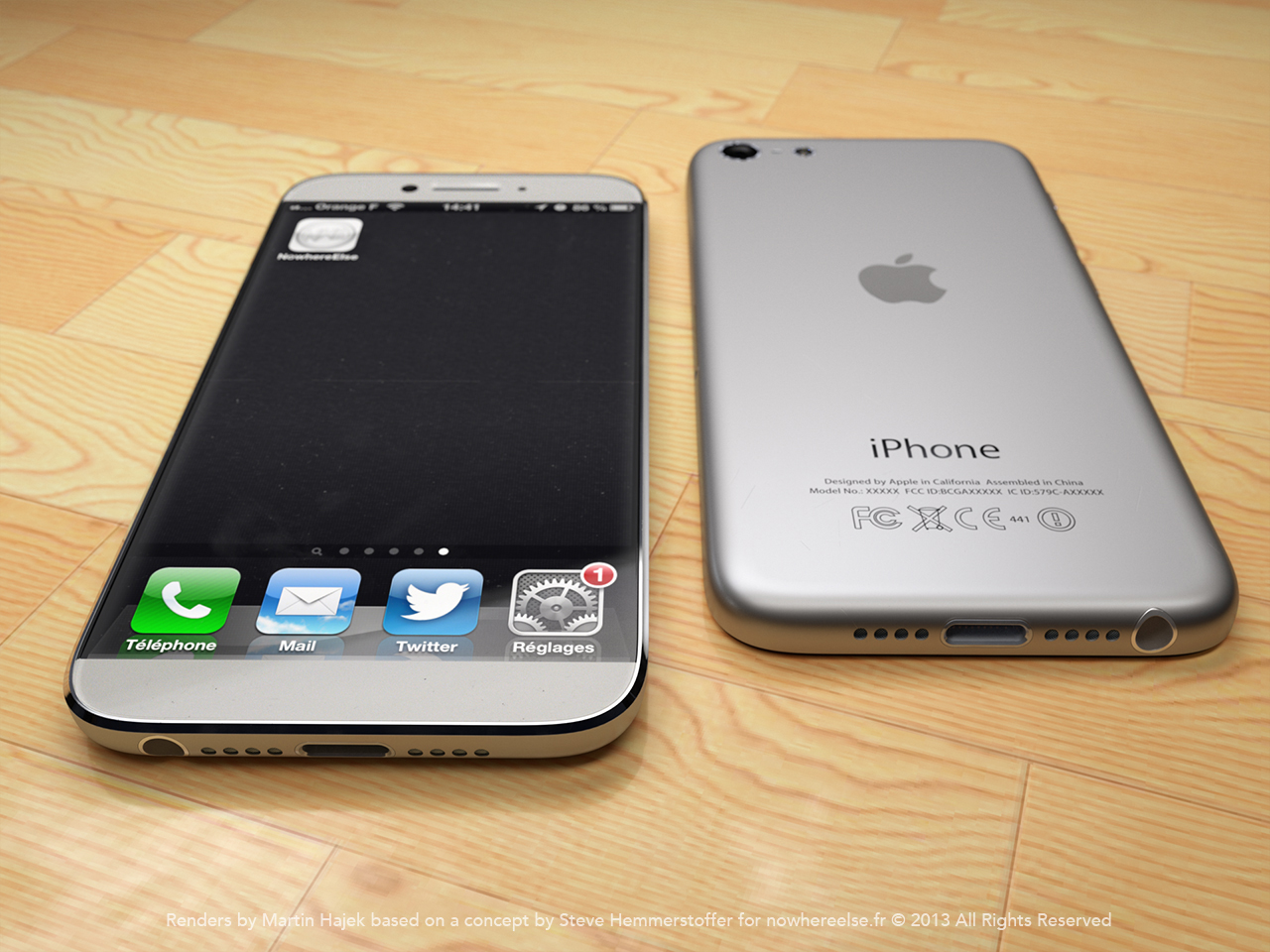 iPhone 6 mockup (Martin Hajek 002)