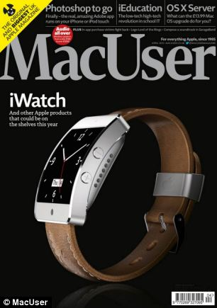 iWatch concept (MacUser magazine, Martin Hajek 001)