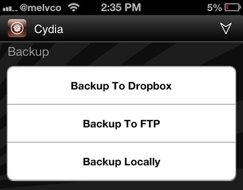 Popular jailbreak backup tool iBye updated for iOS 6
