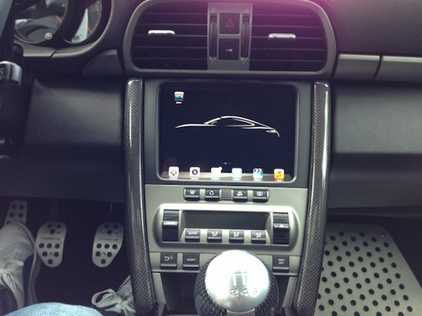 in-car ipad install