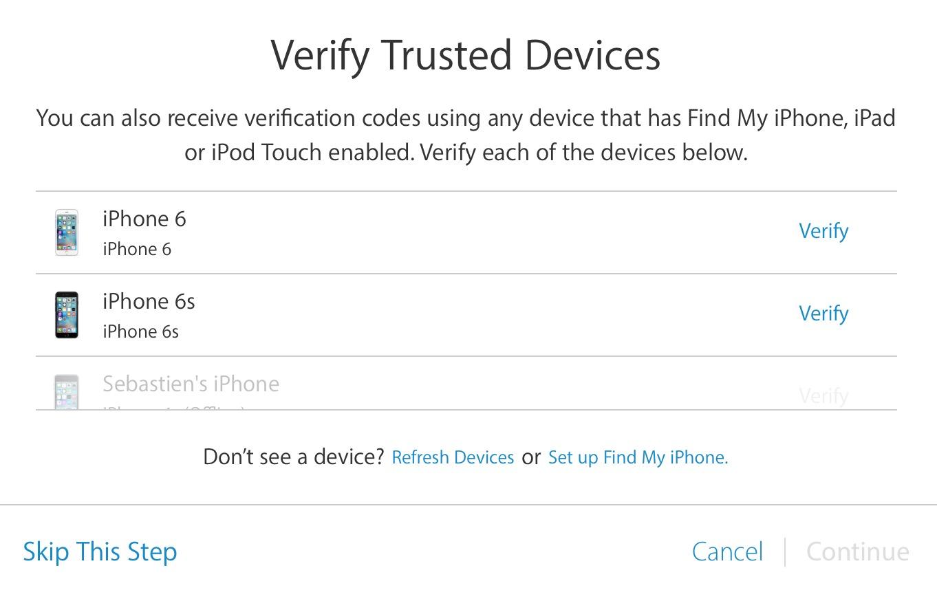 verificación en dos pasos dispositivos más confiables