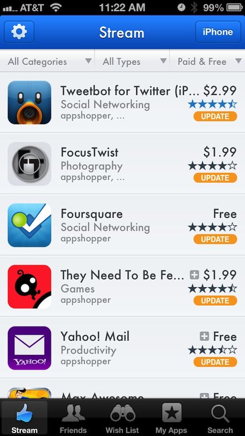 AppShopper Social 1