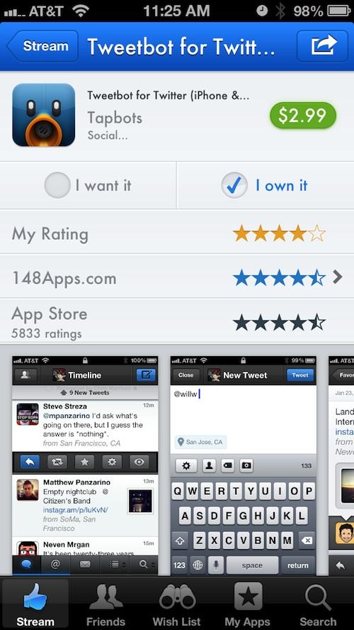 AppShopper Social 2