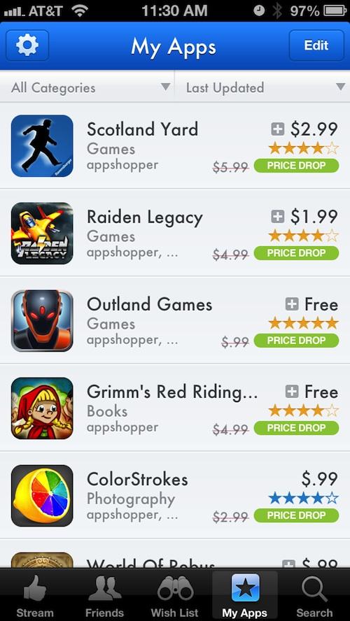 AppShopper Social 3