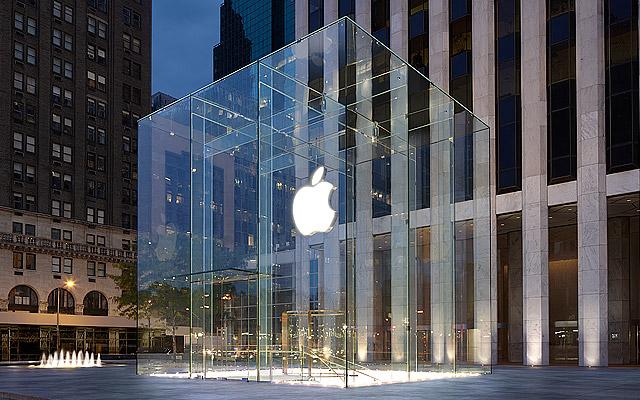 Apple Store (Fifth Avenue, exterior 001)