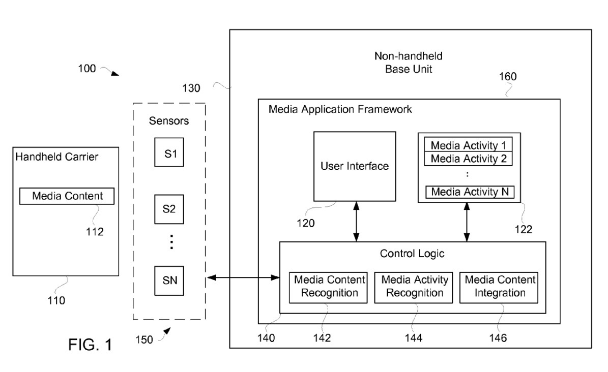 Apple media insertion patent (drawing 001)