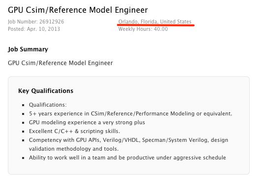 Apple_job_post_(GPU_Reference_Model_Engineer_in_Florida)