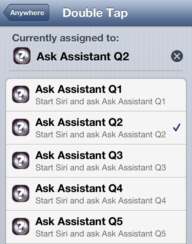Ask Assistant Activator