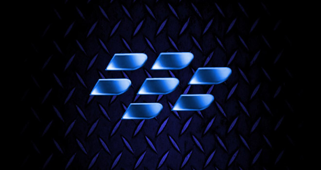 BlackBerry 10 logo (no letters, blue)