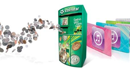 Coinstar iTunes