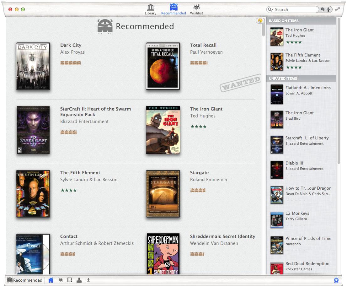 Delicious Library (Mac screenshot 002)