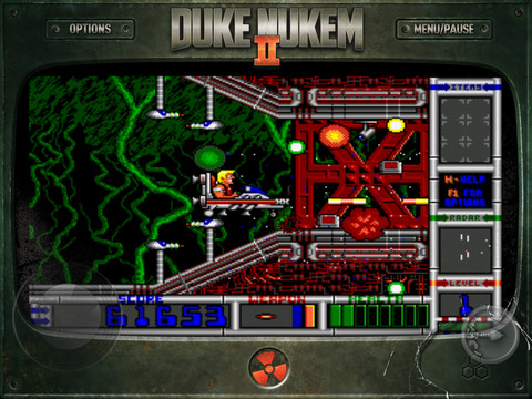 Duke Nukem II 1.0 for iOS (iPad screenshot 002)