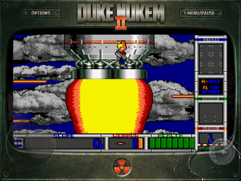 Duke Nukem II 1.0 for iOS (iPad screenshot 003)
