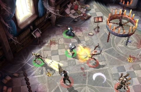 Dungeon Hunter 4 (iPad screenshot 001)