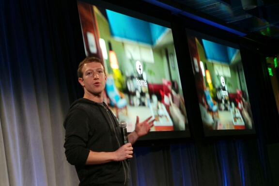 Facebook Home launch (Mark Zuckerberg 001)