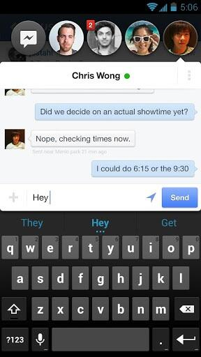 Facebook Messenger for Android (Chat Heads)