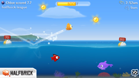 Fish Out of Water (iPhone screenshot 003)