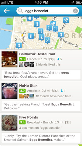 Foursquare 6.0 for iOS (iPhone screenshot 003)