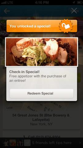 Foursquare 6.0 for iOS (iPhone screenshot 004)