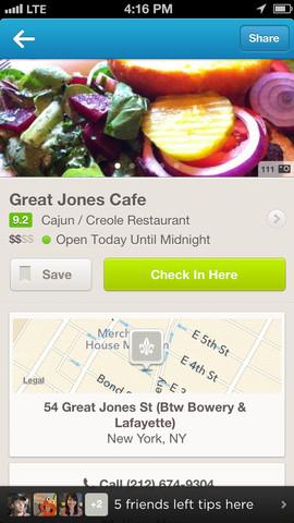 Foursquare 6.0 for iOS (iPhone screenshot 005)