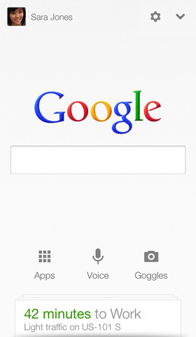 Google Search 3.0 for iOS (iPhone screenshot 001)