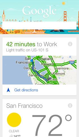 Google Search 3.0 for iOS (iPhone screenshot 002)