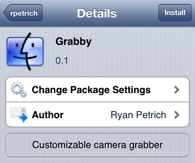 Grabby cydia