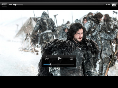 HBO Go 2.1 for iOS (iPad screenshot 005)
