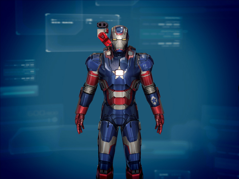 Iron Man 3 suit