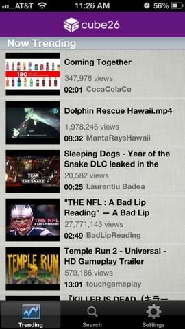 LookAway Player 1.0 for iOS (iPhone screenshot 001)
