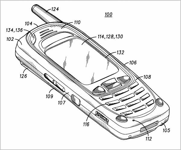 Motorola proximity sensor patent